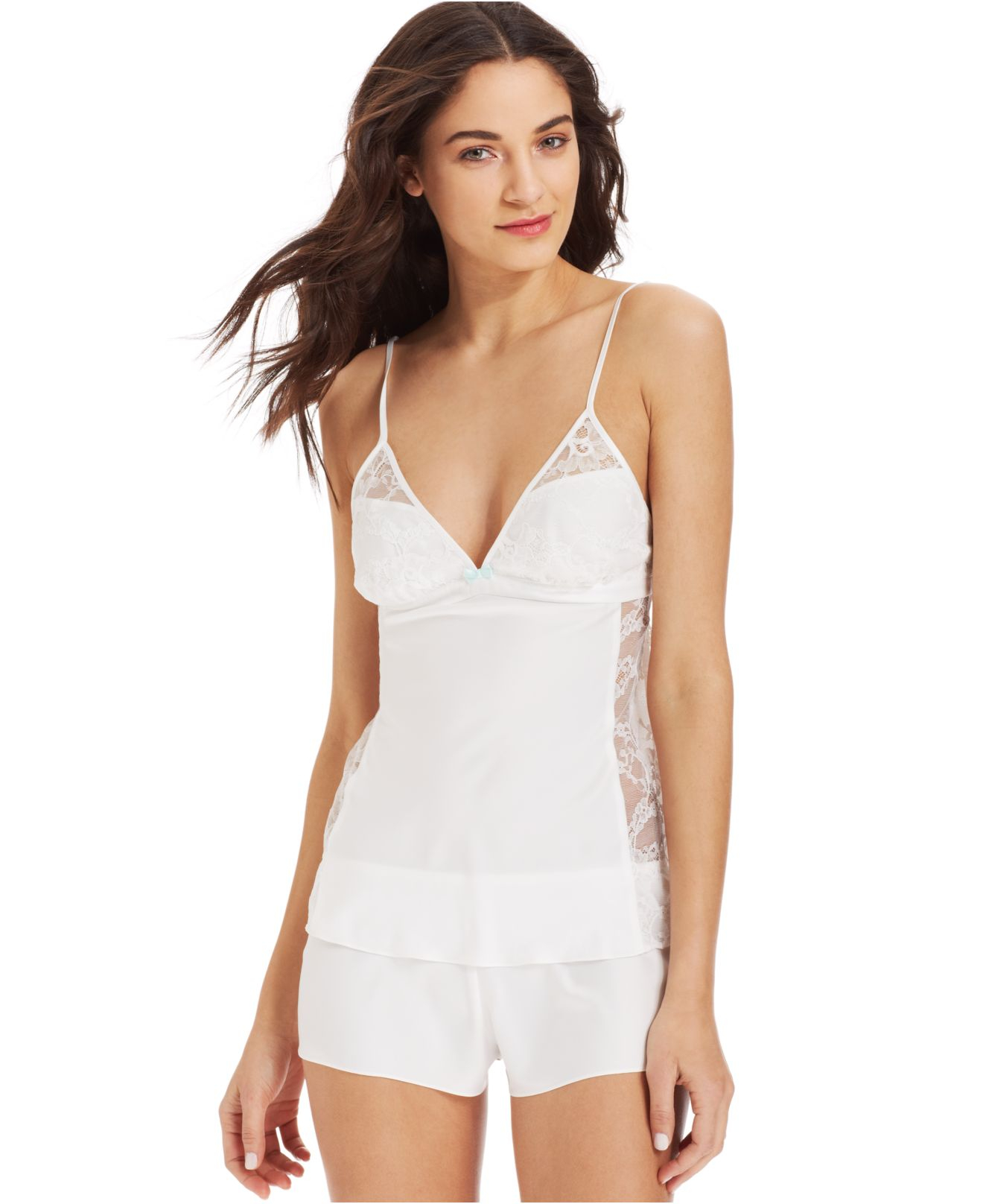 7a5c154beec Betsey Johnson Sultry Satin Fly Camisole And Tap Shorts 731706 in ...