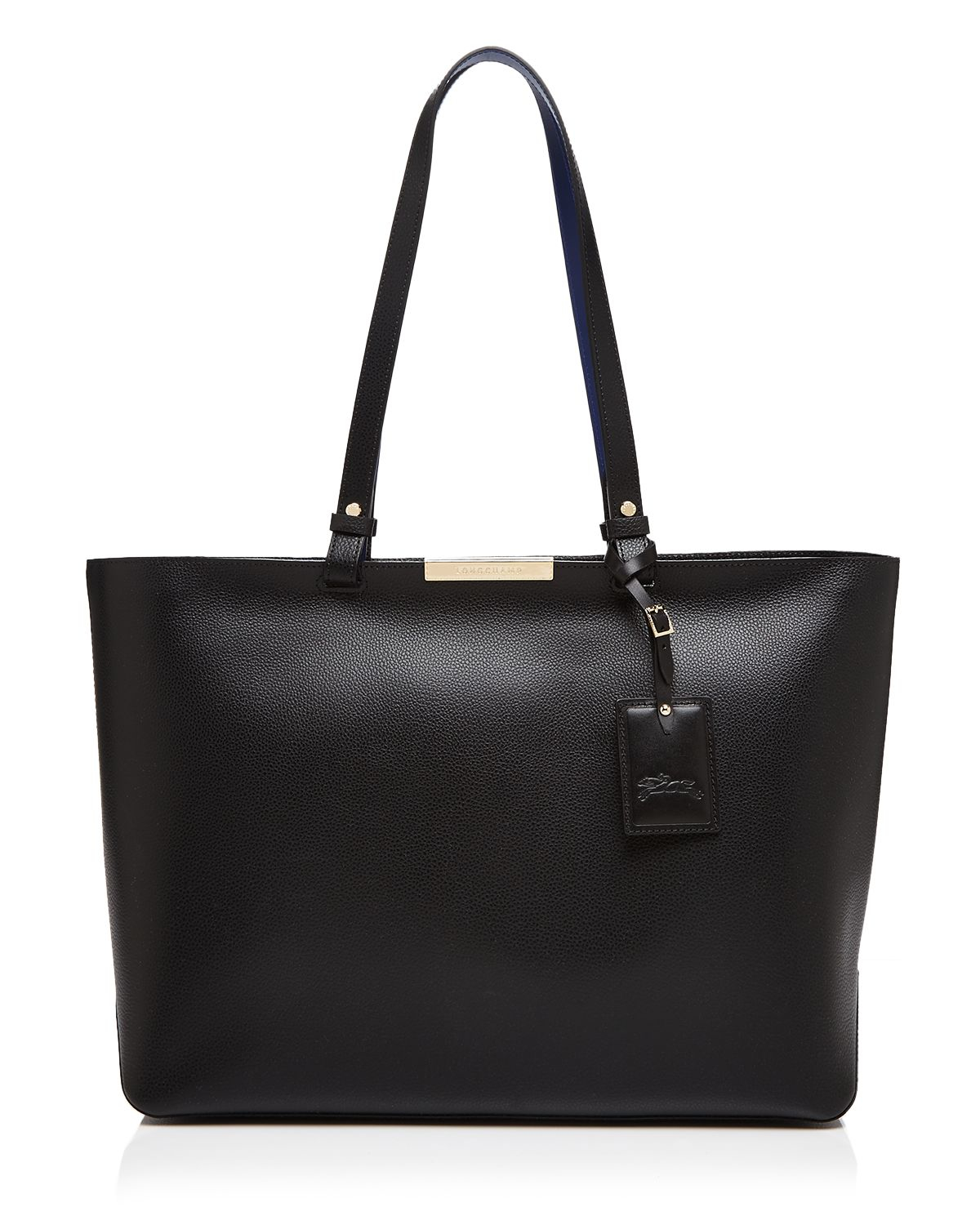 Lyst Longchamp Le Foulonne City Large Tote In Black