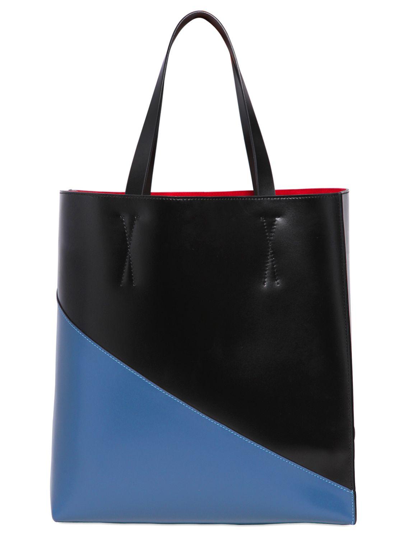 dual toned tote bag - Black Marni qvx9znrY