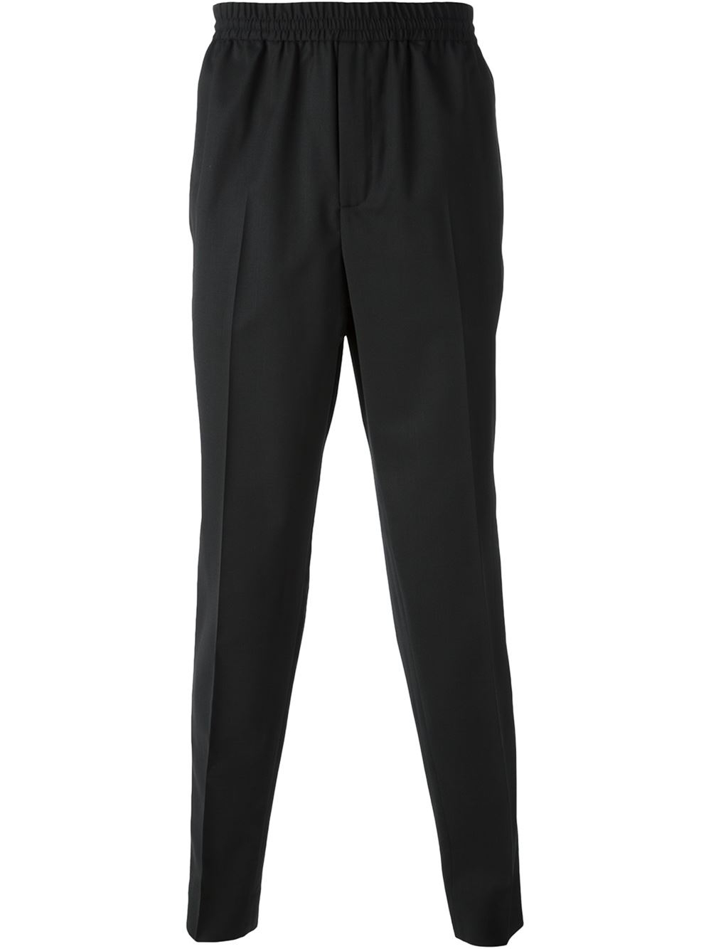 Shop black white tapered pants at Neiman Marcus, where you will find free shipping on the latest in fashion from top designers.