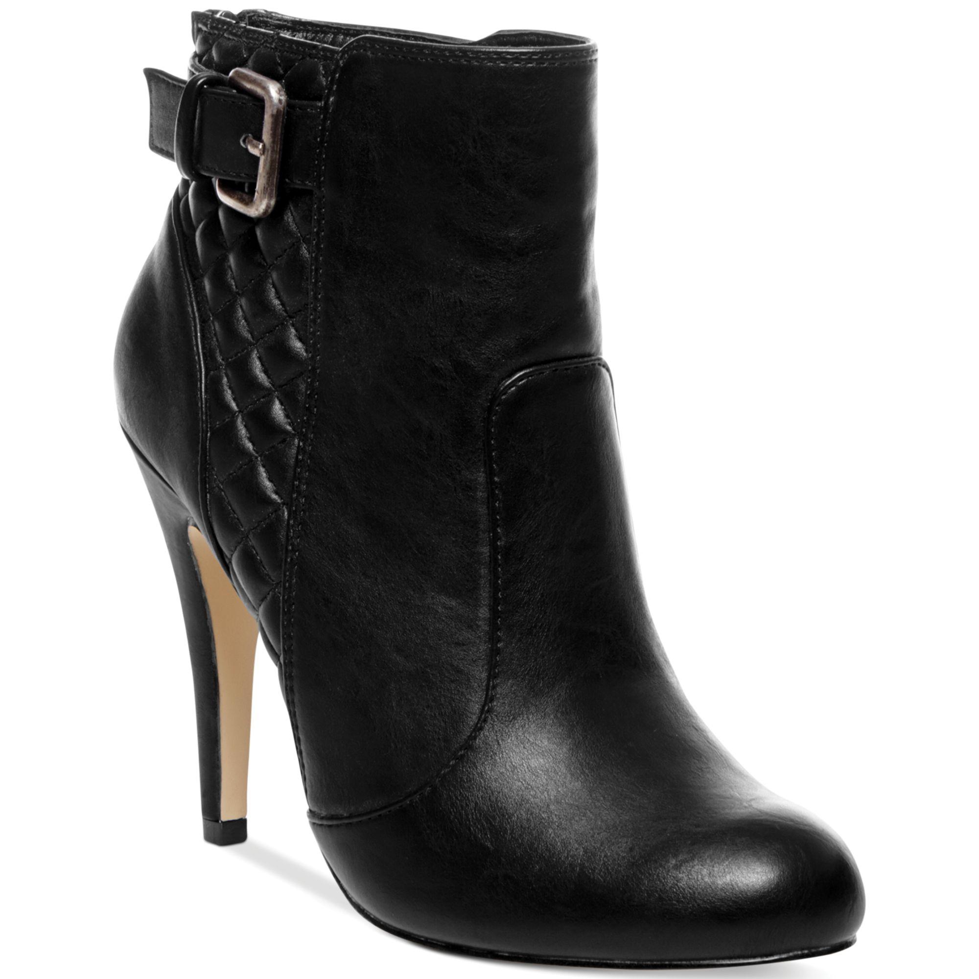 Lyst - Madden girl Ariiana Quilted Dress Booties in Black : quilted booties - Adamdwight.com