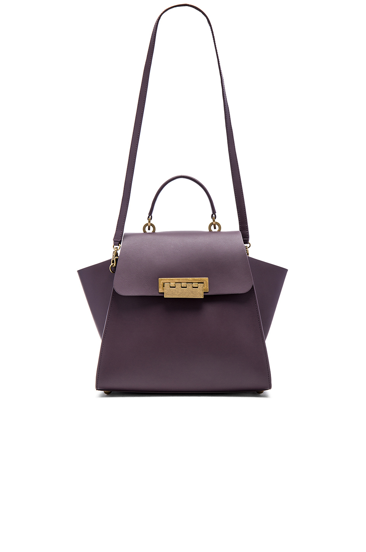 3e369221ff Lyst - Zac Zac Posen Eartha Iconic Top Handle Bag in Purple