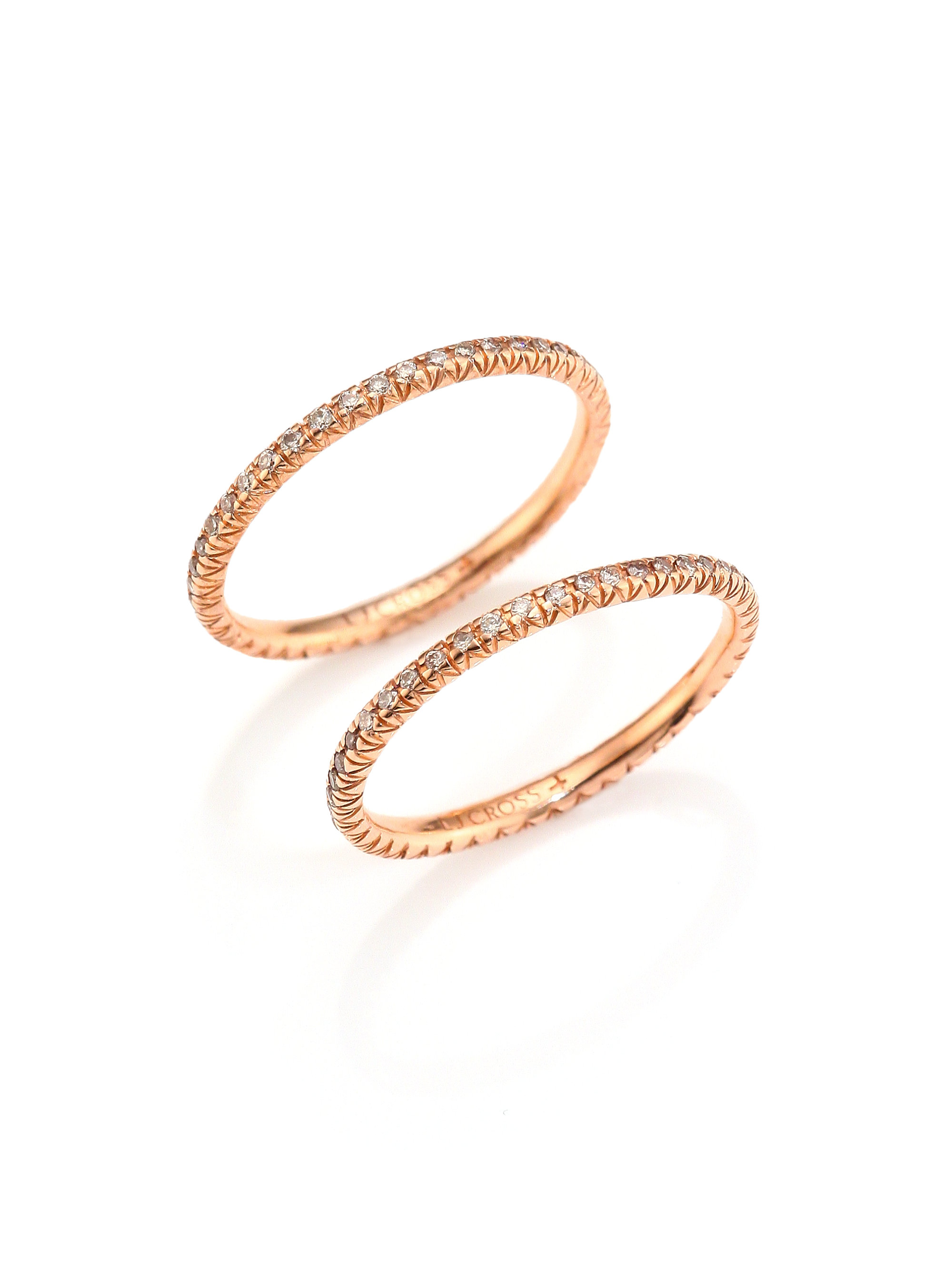 suzanne gold champagne gallery product kalan rose diamond pink lyst by ring jewelry normal