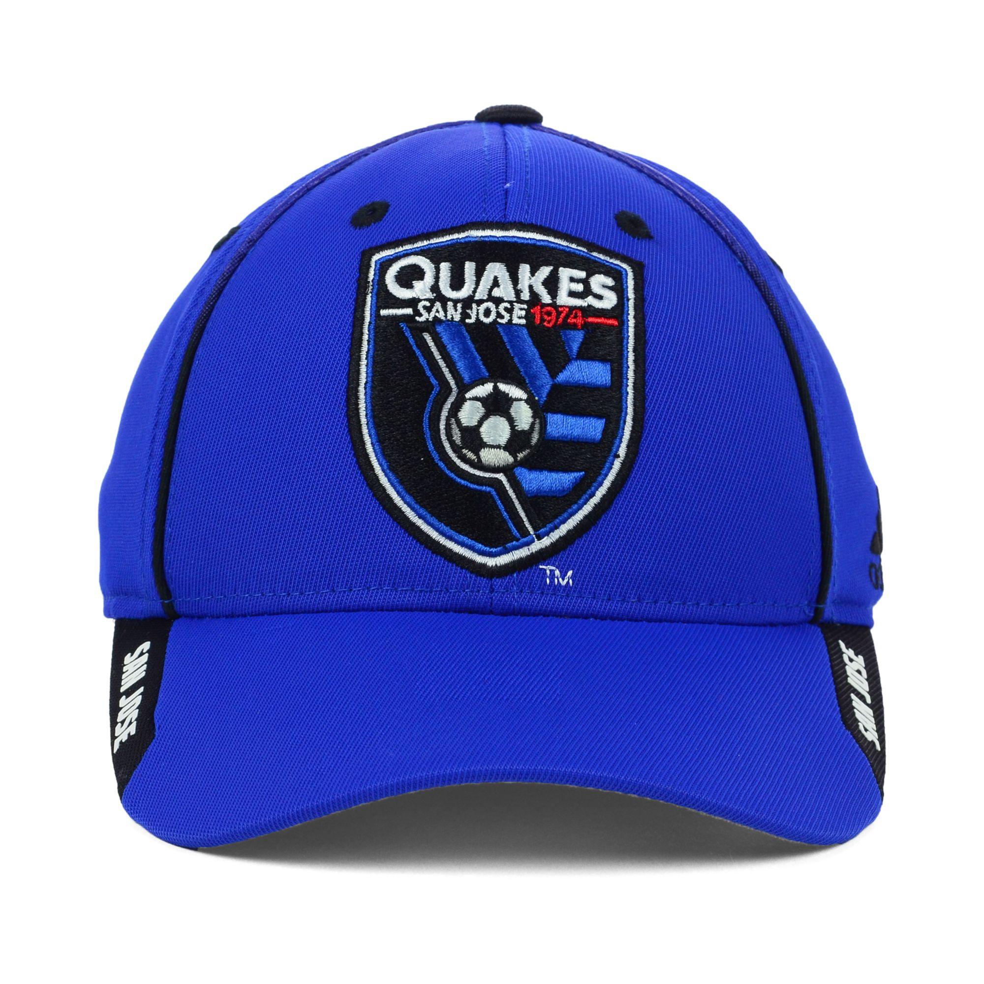 best cheap 02ec5 360d5 ... purchase lyst adidas san jose earthquakes mls mid fielder cap in blue  for men 73e1f 58c5e