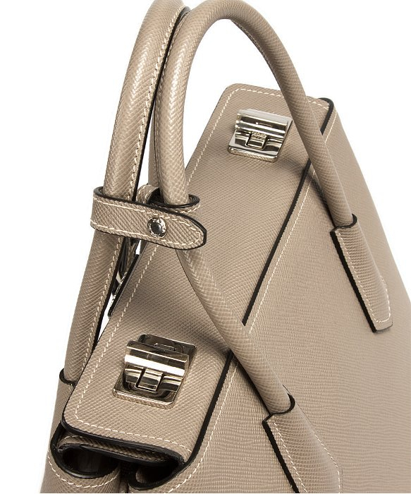 Prada Bn2823 Bag - F0572 Argilla (Clay Grey) Saffiano Cuir Leather ...