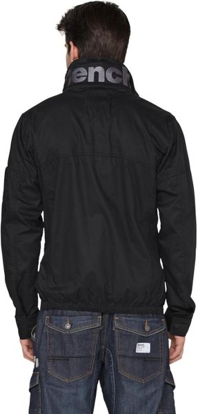 Bench Bench Mens Logo Jacket in Black for Men | Lyst