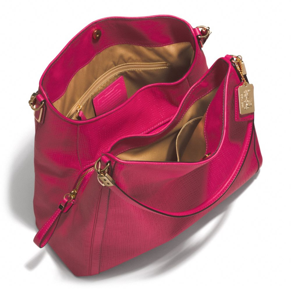 d9c79e0ff278 ... where to buy coach madison small phoebe shoulder bag in embossed leather  23ef8 59be7