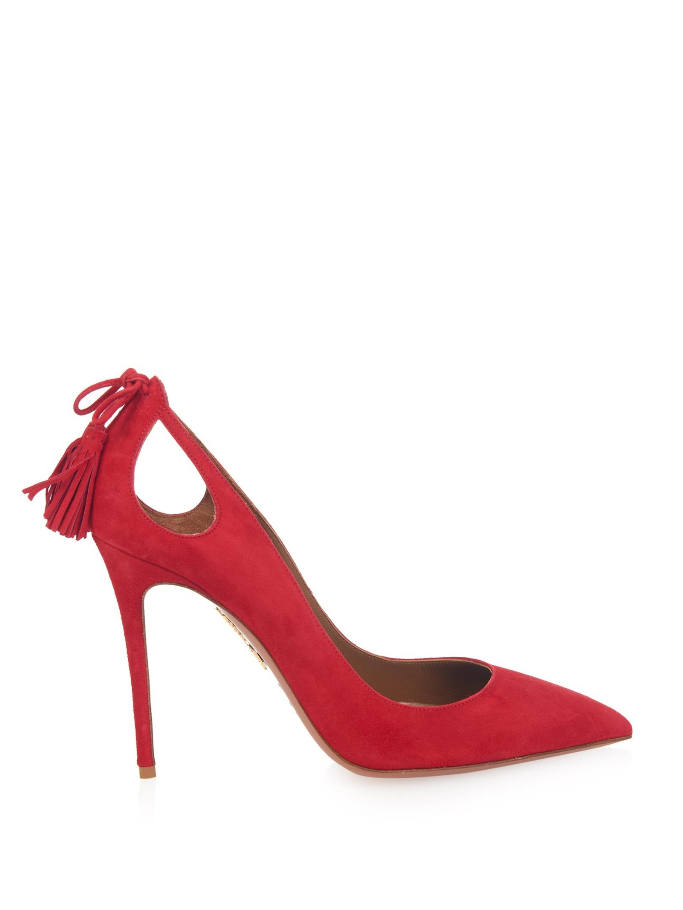Cherry Red Court Shoes
