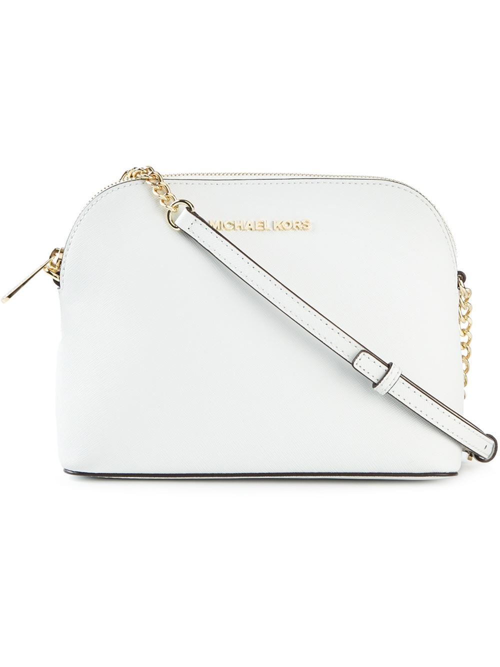 409a64569a94 MICHAEL Michael Kors 'Cindy' Crossbody Bag in White - Lyst