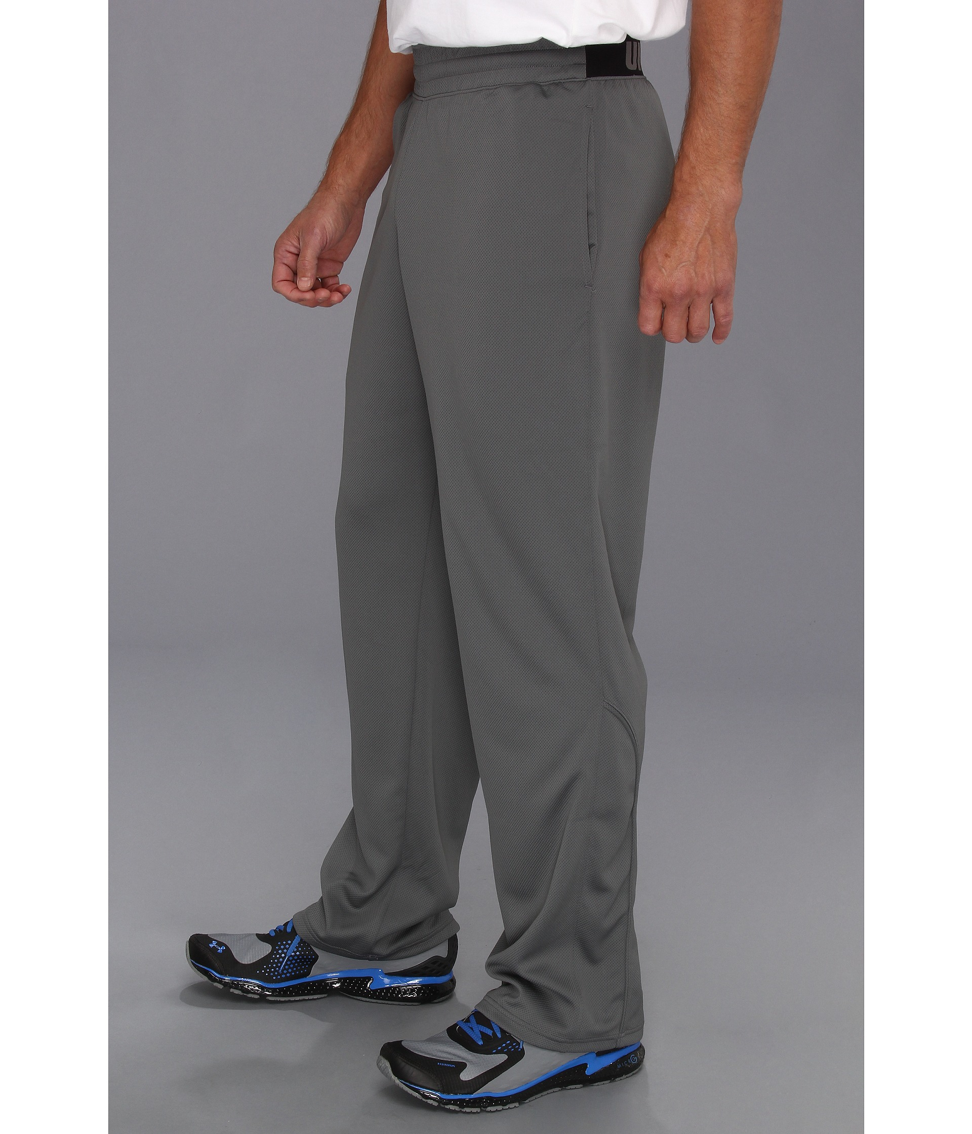 a651f908f78 Under Armour Ua Reflex Warm-up Pant in Gray for Men - Lyst