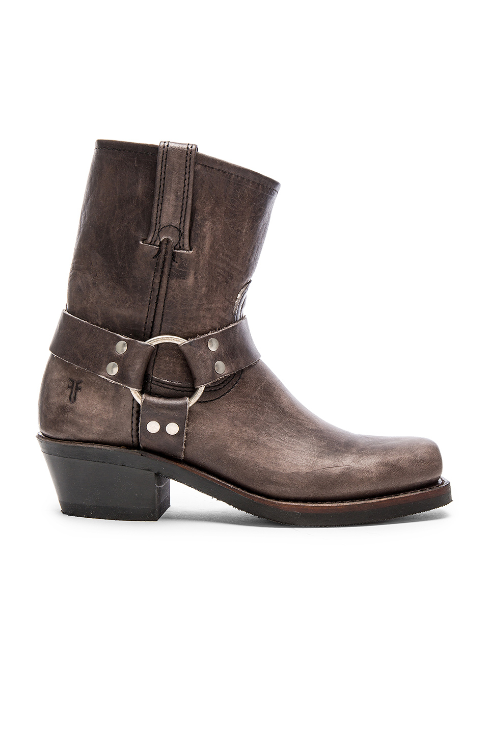 frye harness leather ankle boots in lyst
