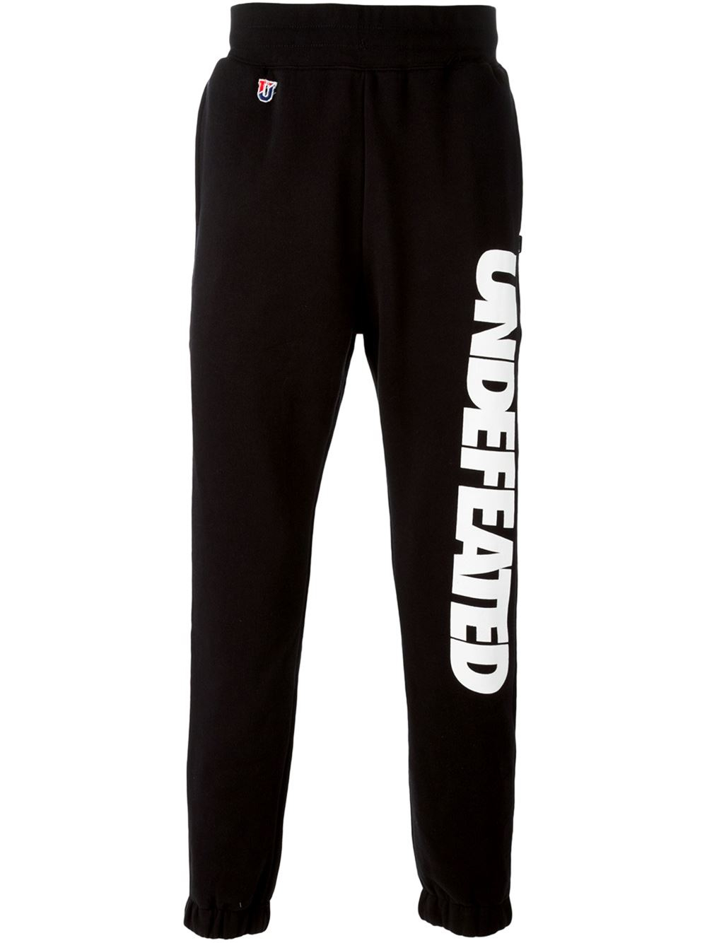 Lyst Undefeated Logo Print Sweatpants In Black For Men