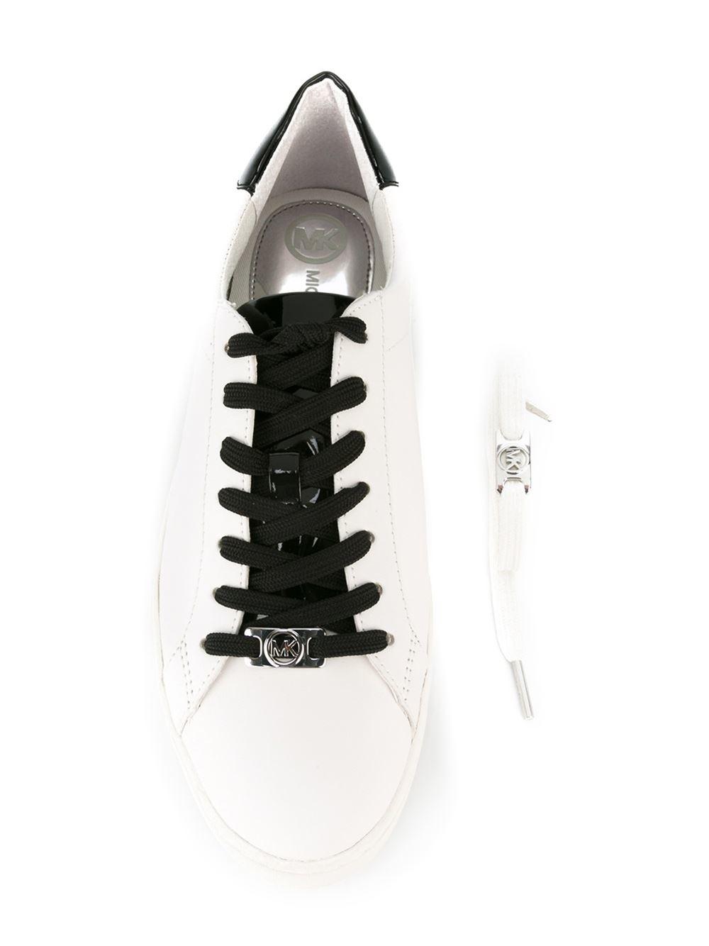 4e2739bf273 MICHAEL Michael Kors Sneaker Irving Lace Up in White for Men - Lyst