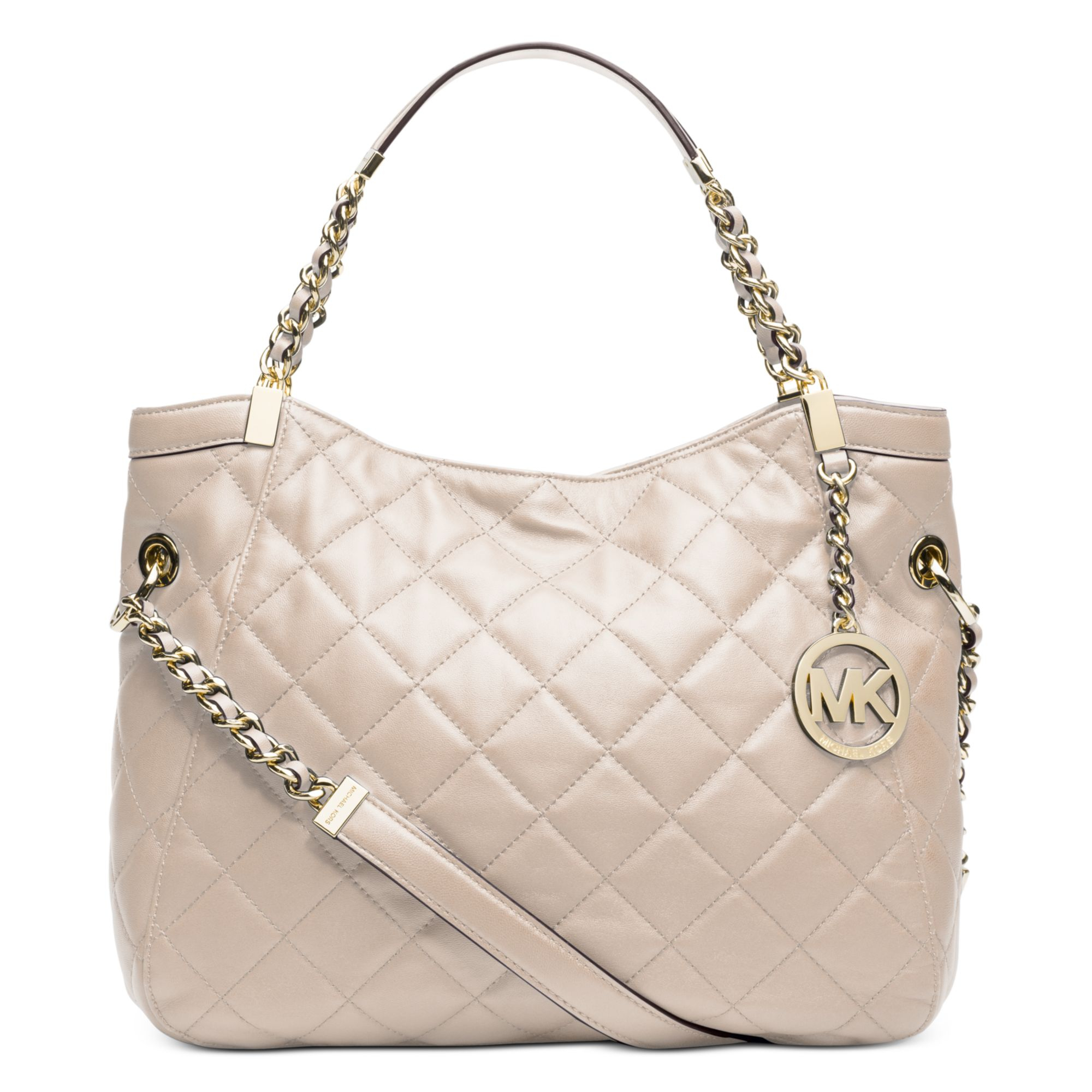 21d99dce2a53 Gallery. Previously sold at: Macy's · Women's Michael Kors Charm Women's Michael  Kors Quilted Bag ...