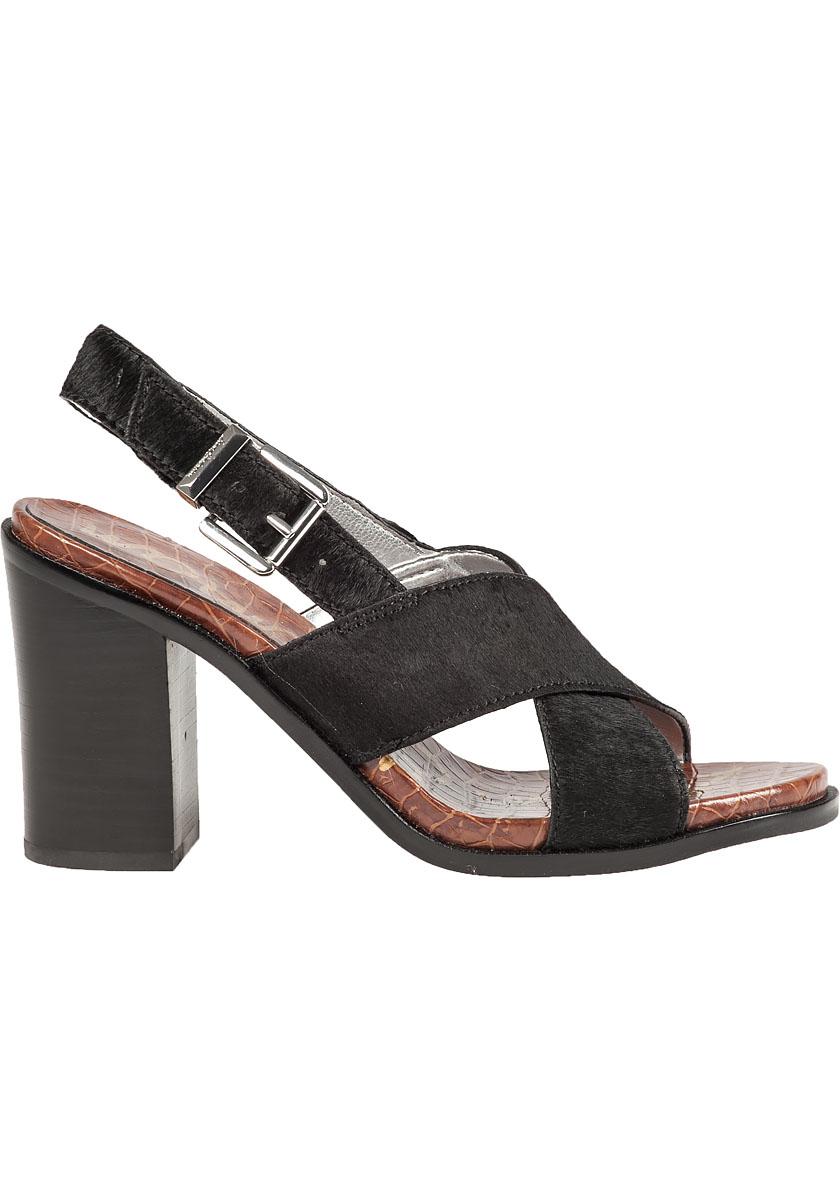 Black And White Calf Hair Shoes