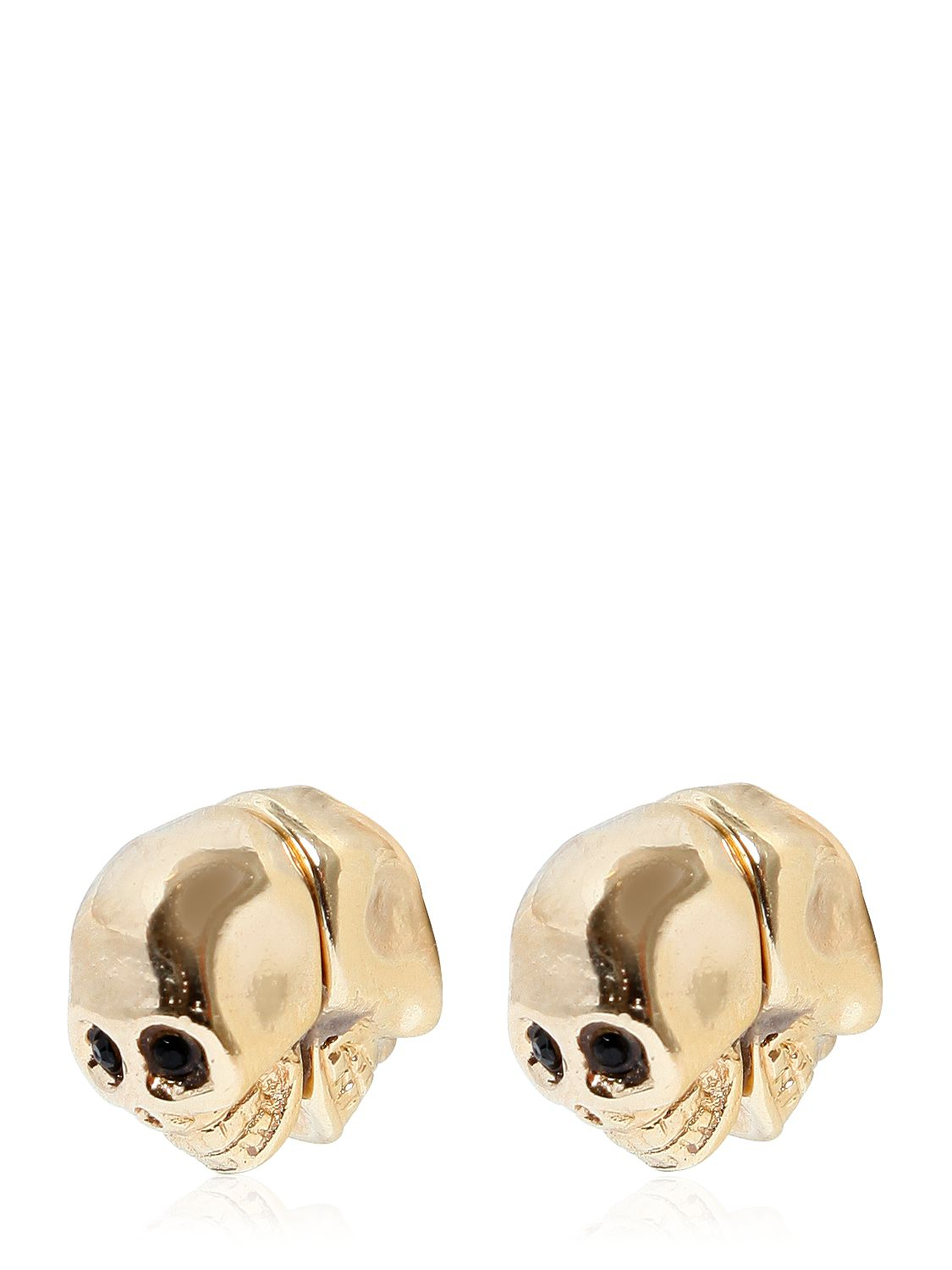 Givenchy Skulls Earrings in Metallics