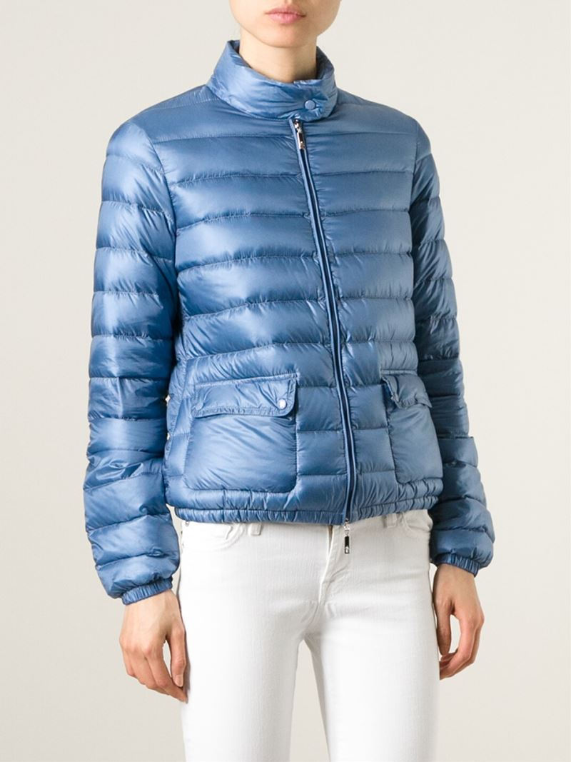 c3629afdfcac Lyst - Moncler  Lans  Padded Jacket in Blue