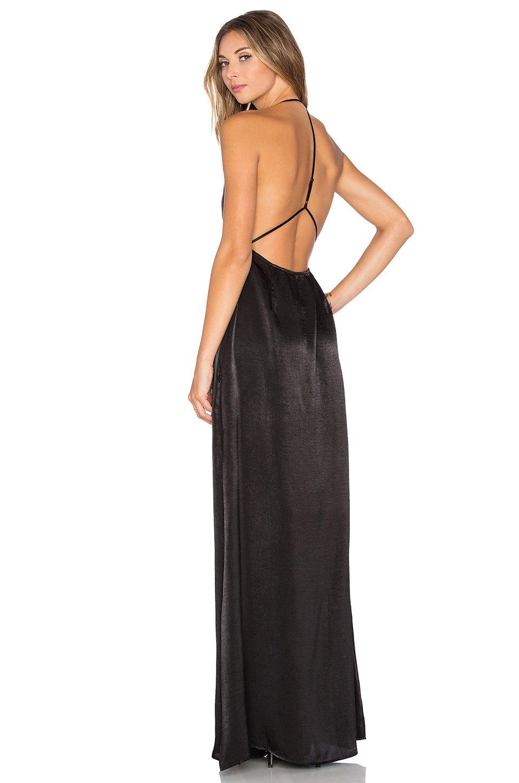 Capulet Halter Neck Maxi Dress in Black - Lyst