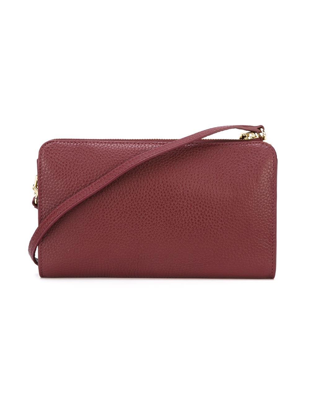 tory burch robinson wallet crossbody bag in red lyst