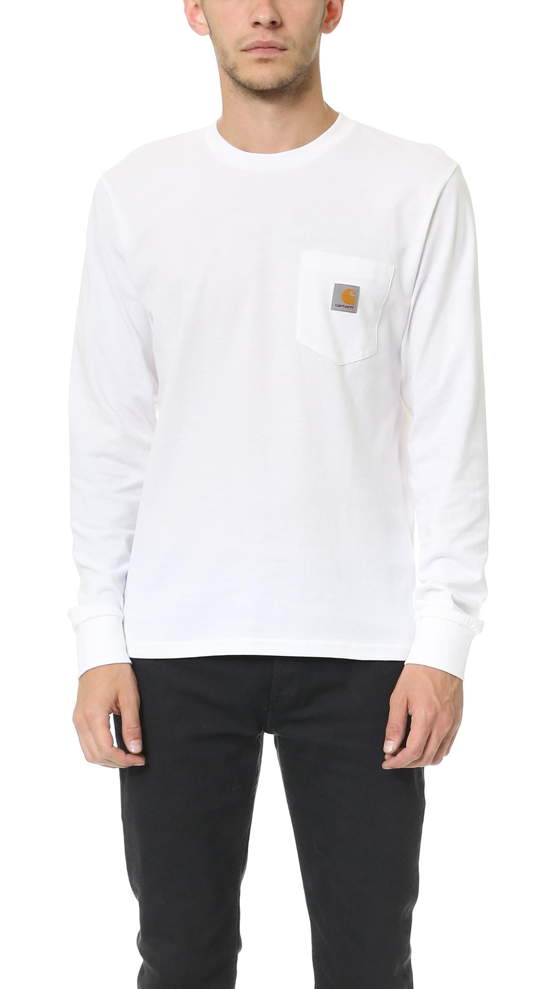 c1db012593f6 Mens Carhartt Long Sleeve T Shirts