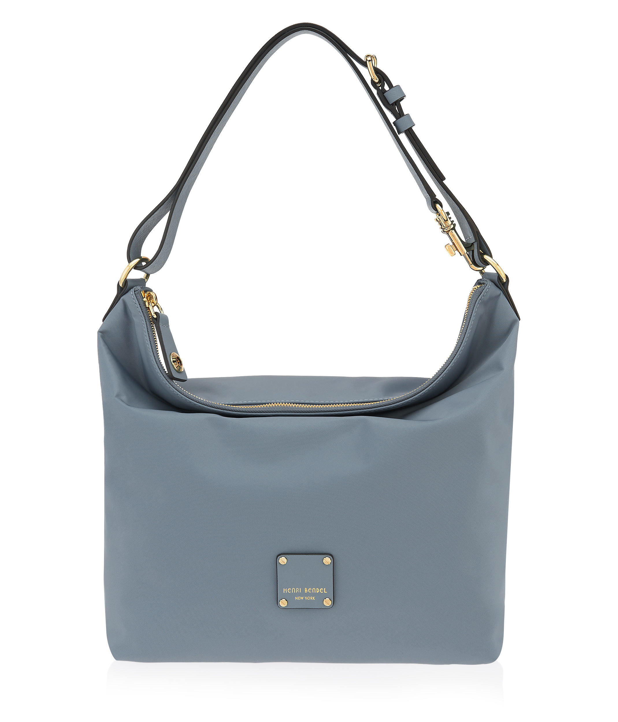 Henri bendel Jetsetter Convertible Hobo in Gray | Lyst