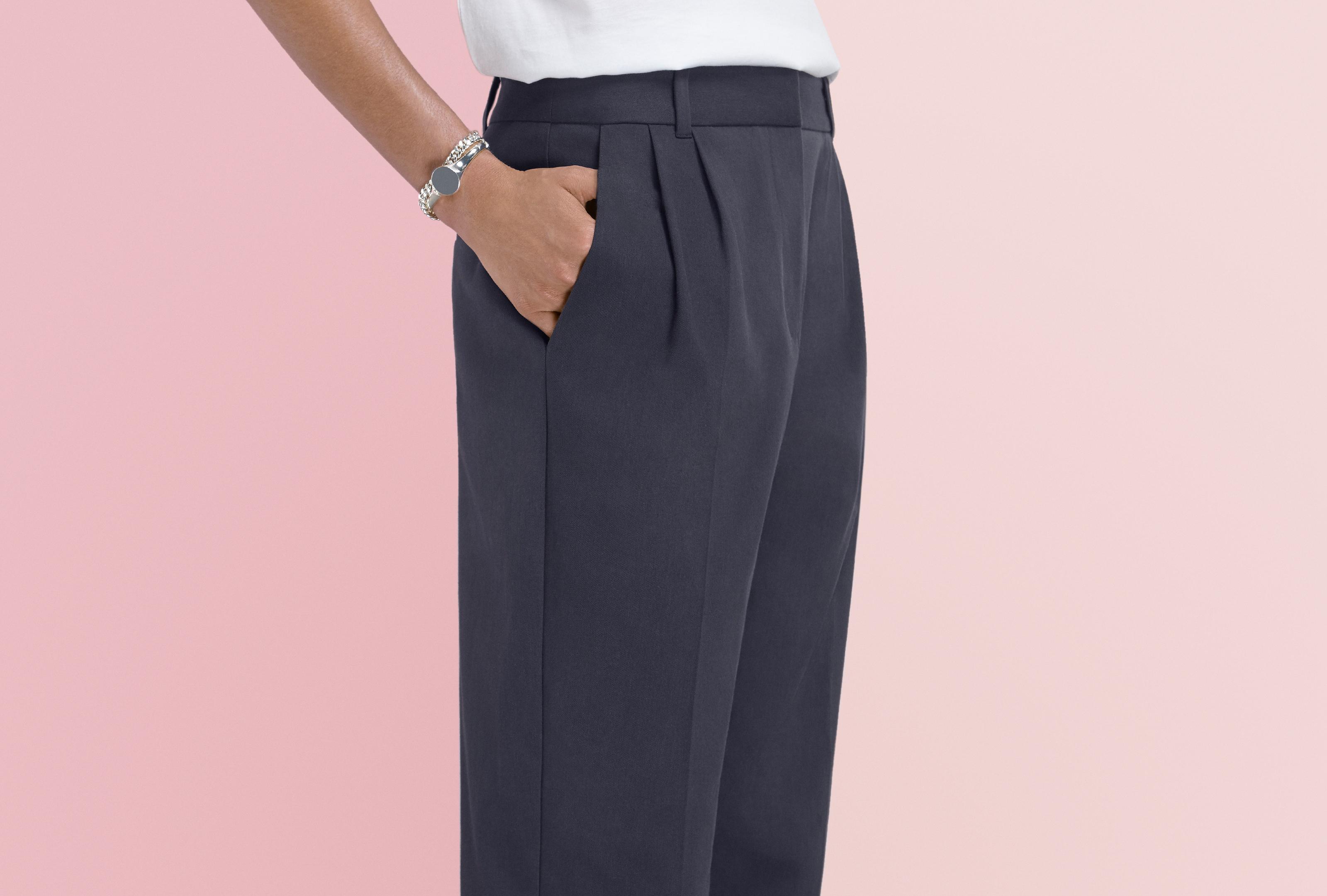 Boxmoor Pleated Peg Trousers Finery FE3u6Ax