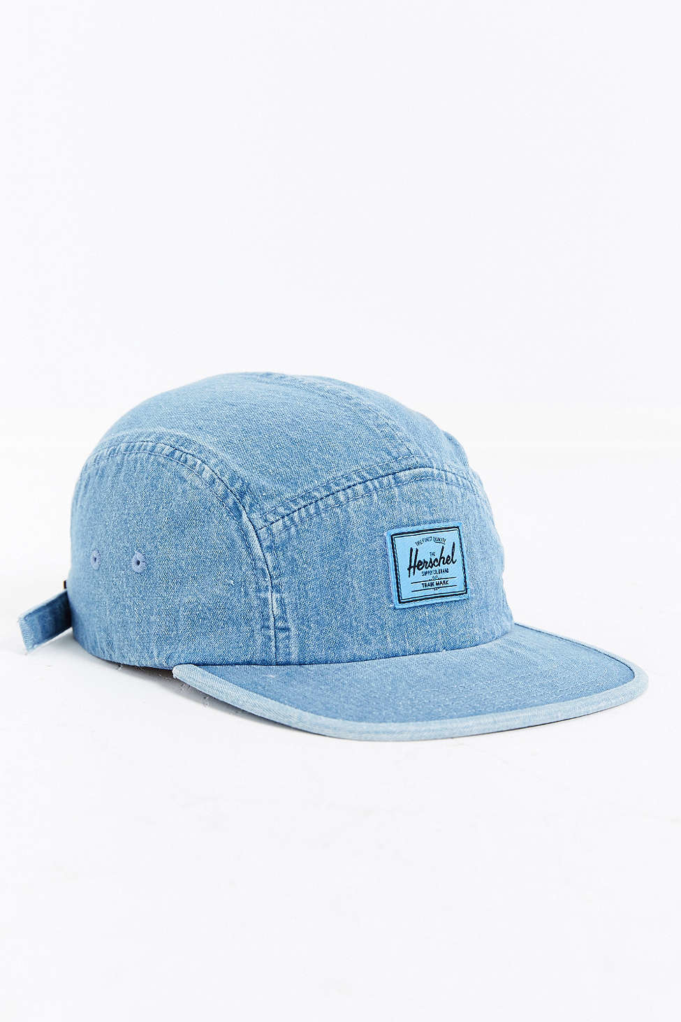 Lyst - Herschel Supply Co. 5-panel Baseball Hat in Blue for Men 8bb031fa092