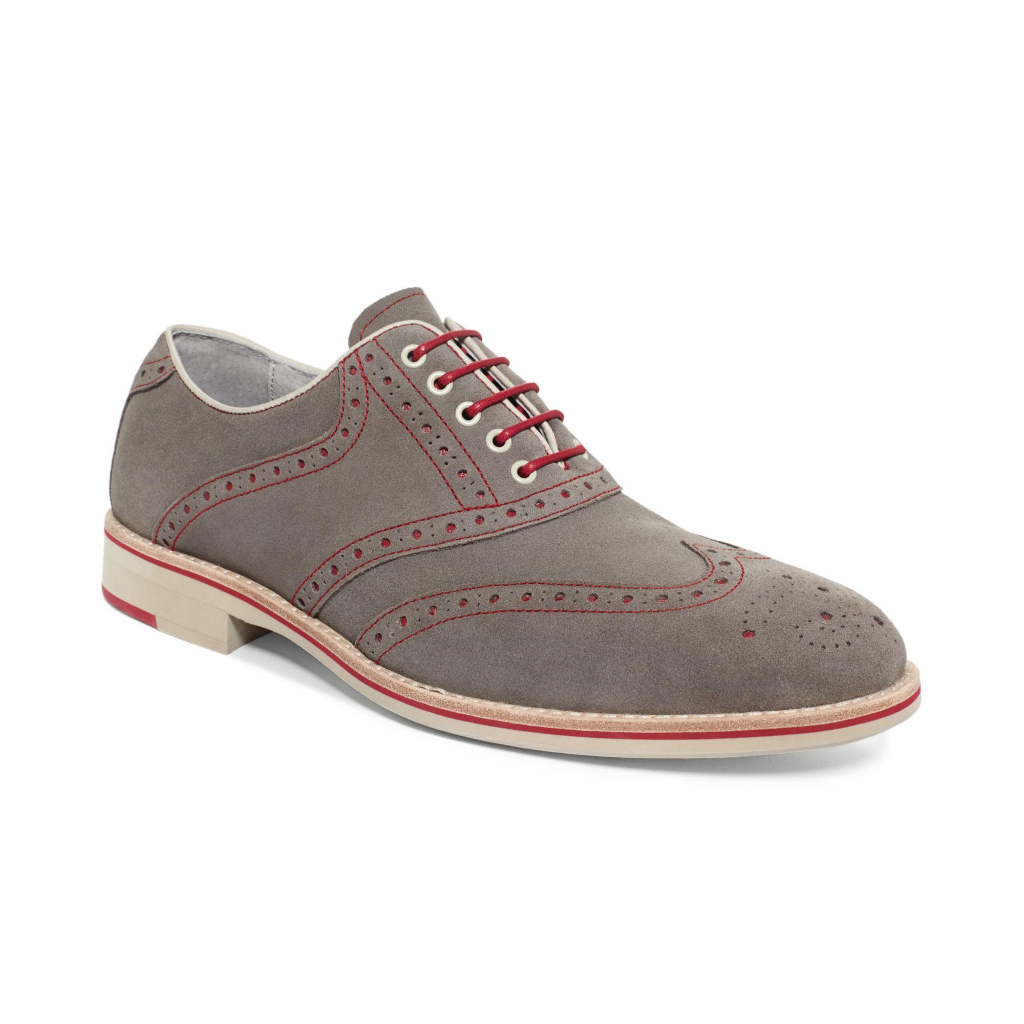 Ecco Wingtip Shoes Slip Resistant