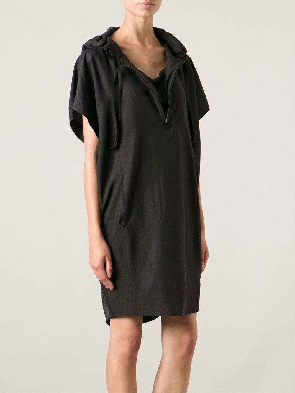 Hooded Tunic Dress