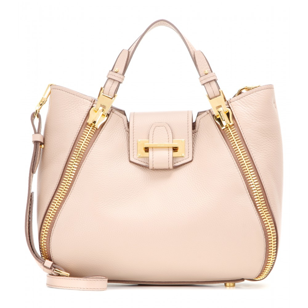 6e2667be7f4e Lyst - Tom Ford Sedgwick Mini Leather Tote in Pink