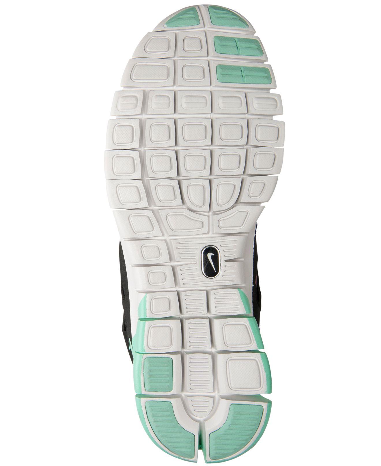 f01ec85b11231 50904 1927c  closeout lyst nike womens free run 2 mid sneakerboot from  finish line in black f9e91 c58aa