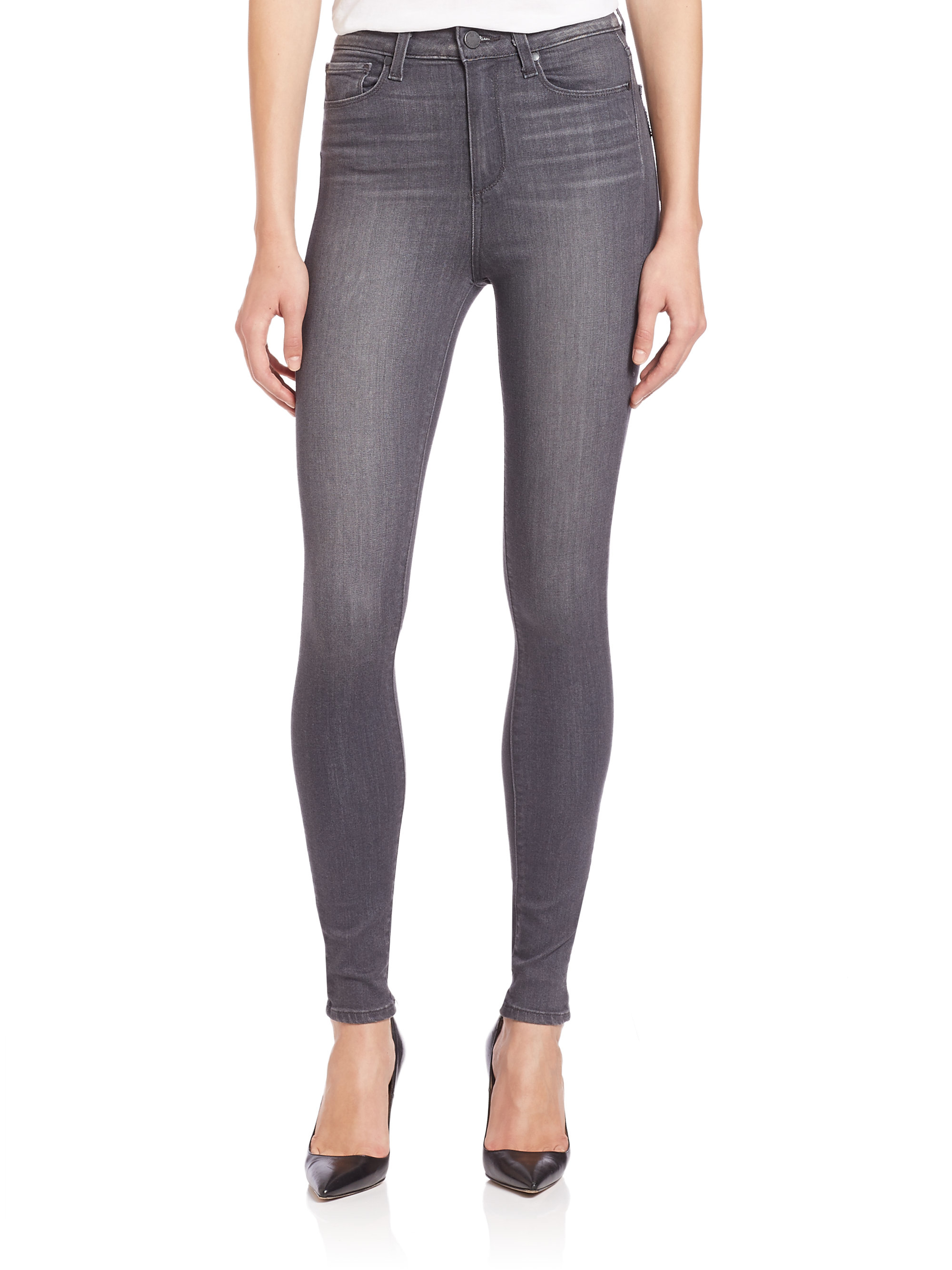 Paige high waisted jeans – Global fashion jeans models