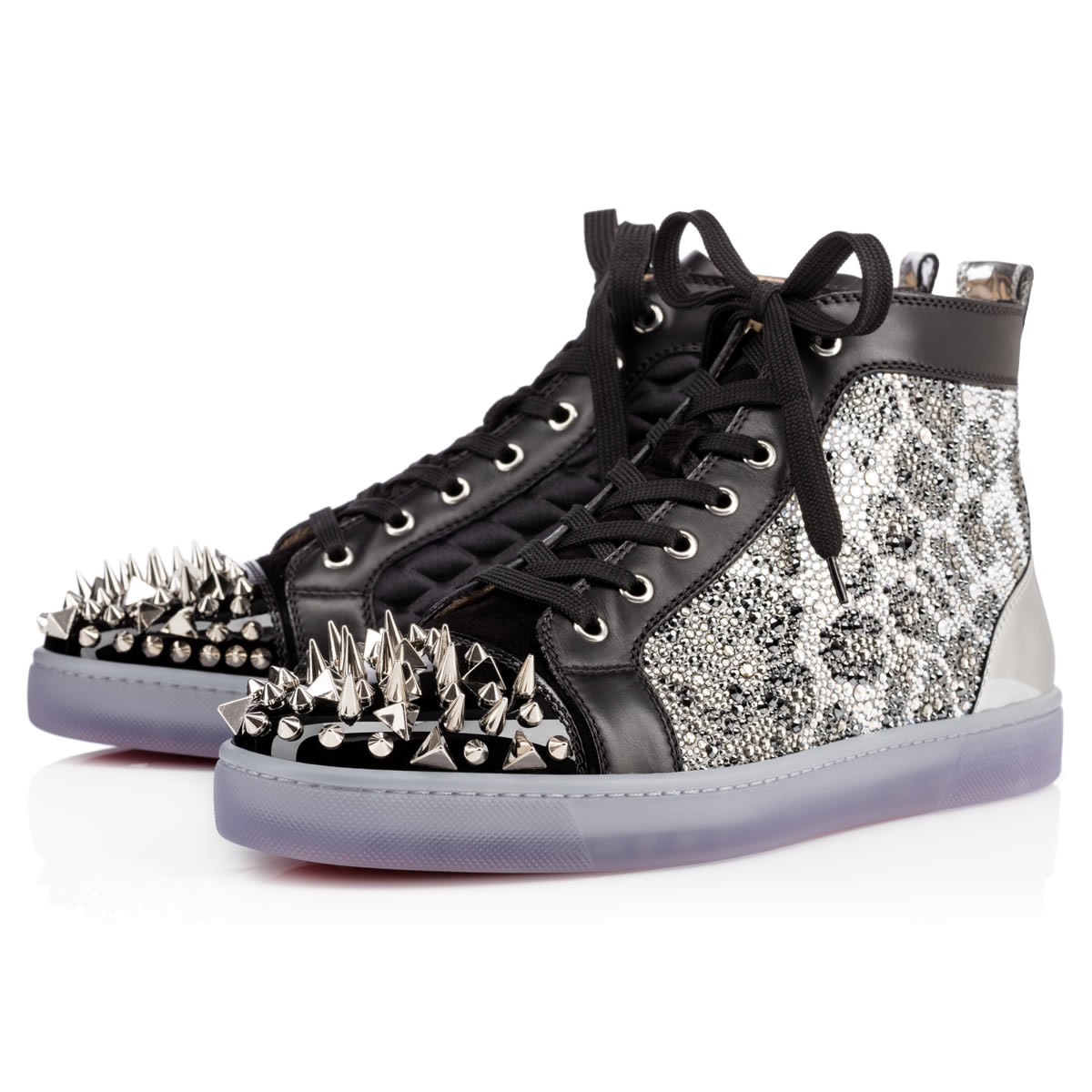 Christian Louboutin New No Limit Men S Flat In Black For
