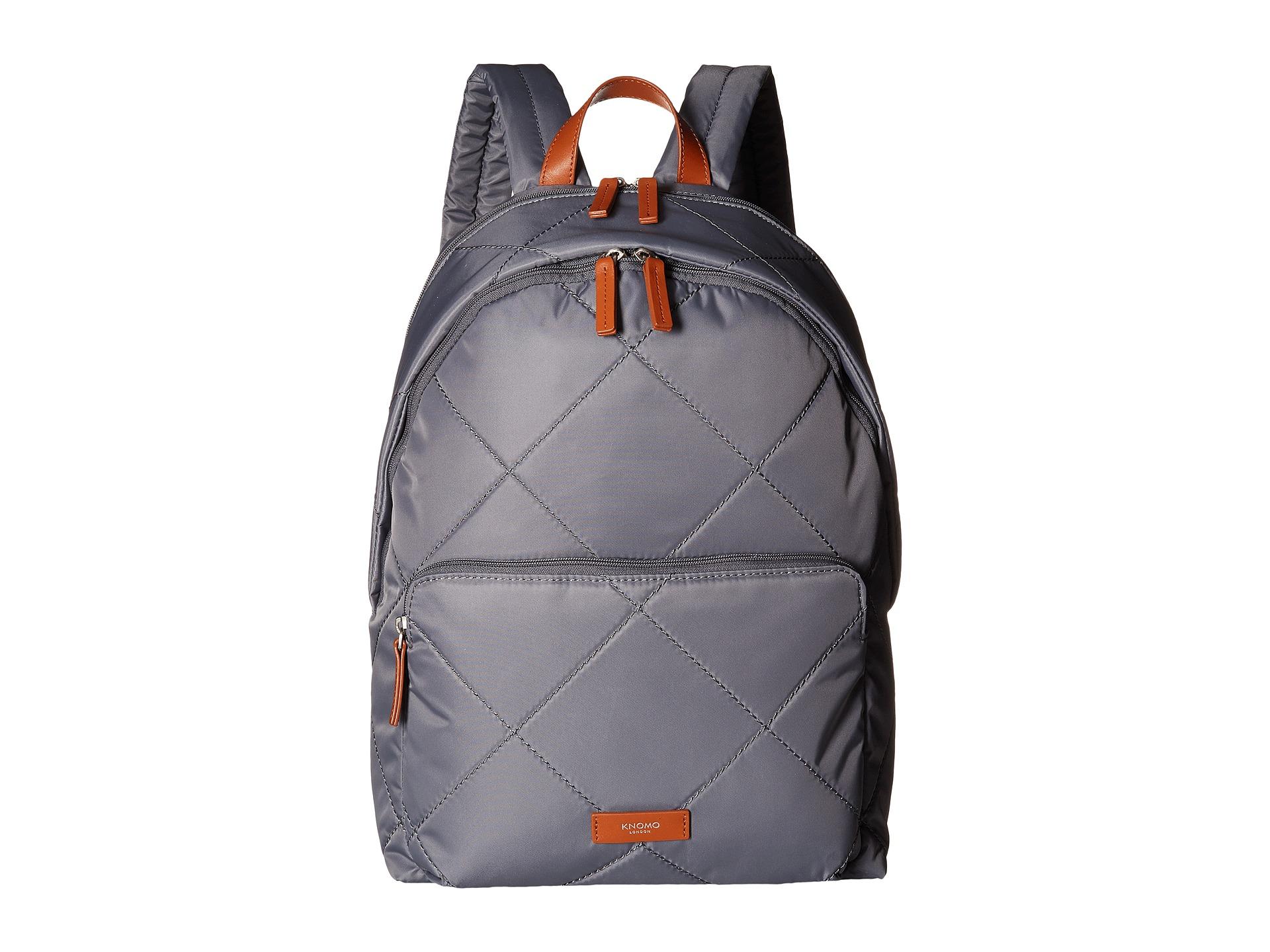 lyst knomo bathurst laptop backpack in gray. Black Bedroom Furniture Sets. Home Design Ideas