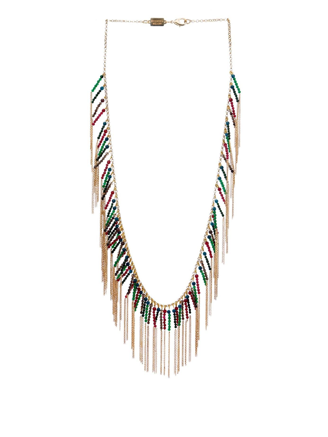 Carramato bead-embellished necklace Rosantica vtj2Lv
