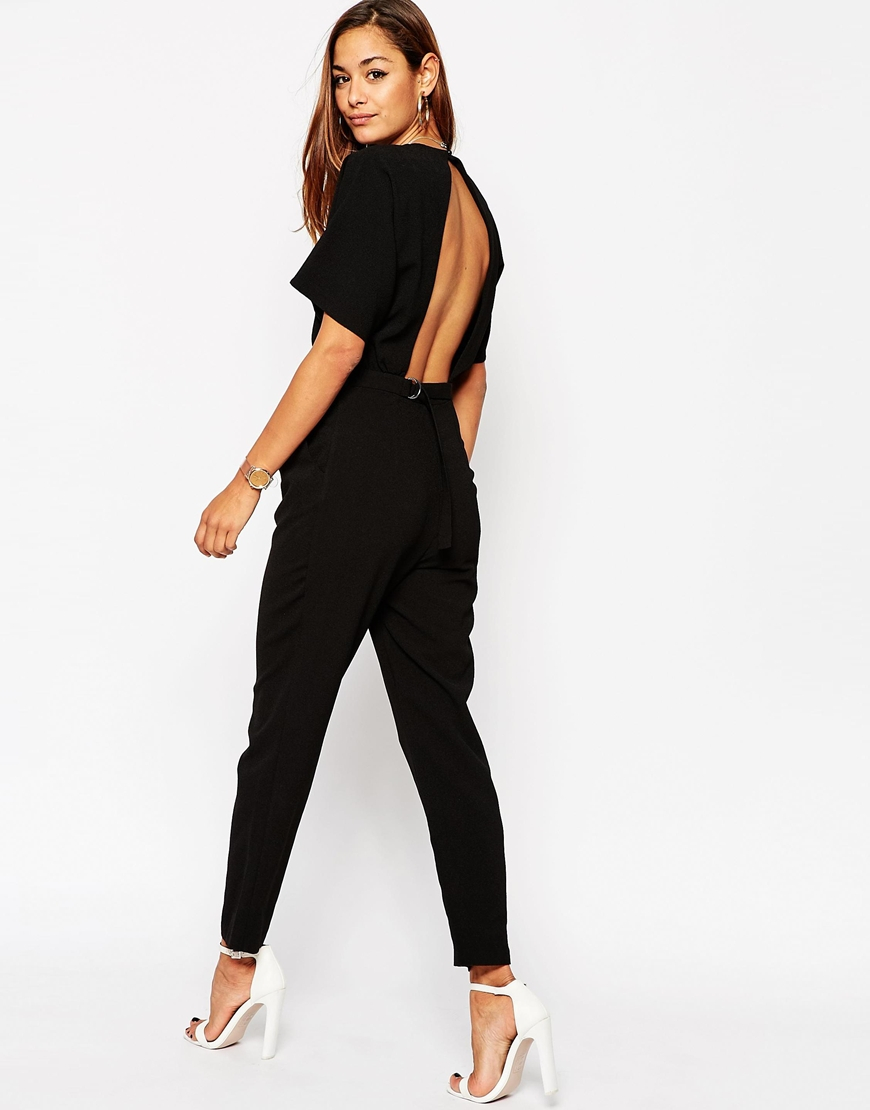 Black Jumpsuits. Rompers. All Jumpsuits. Long sleeve jumpsuits make for the perfect winter outfits, while short sleeve and sleeveless jumpsuits are must-haves in summer. Whether your look is modern, glam or laid back, bebe has chic jumpsuits and rompers to