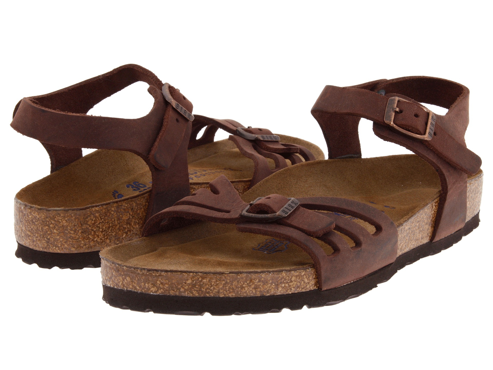 Lyst Birkenstock Bali Soft Footbed In Natural