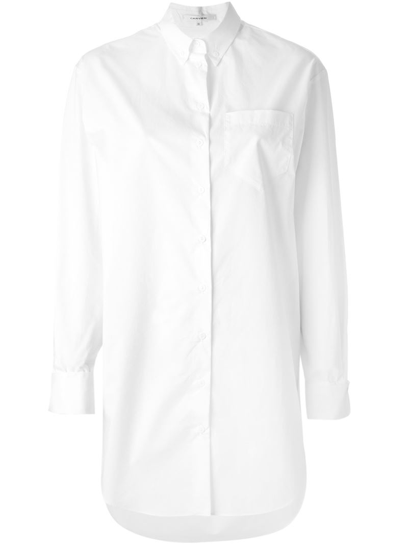 White cotton button down shirt custom shirt for Button down uniform shirts