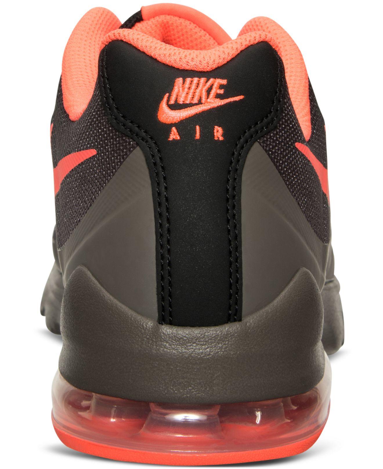 sale retailer 1cc47 fef58 Lyst - Nike Men s Air Max Invigor Print Running Sneakers From Finish Line in  Black for Men