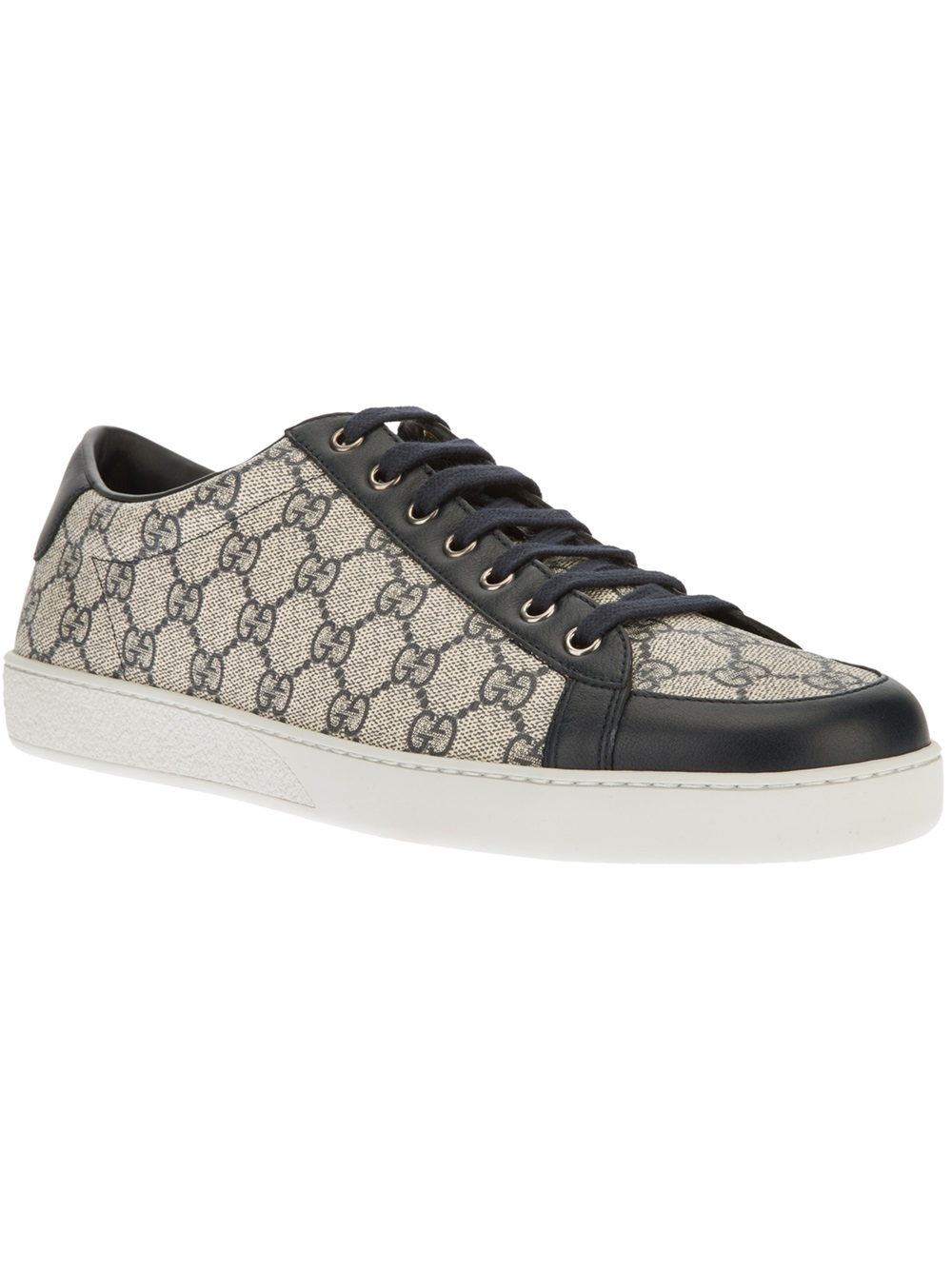 622e5443249e Lyst - Gucci Trainer in Black for Men