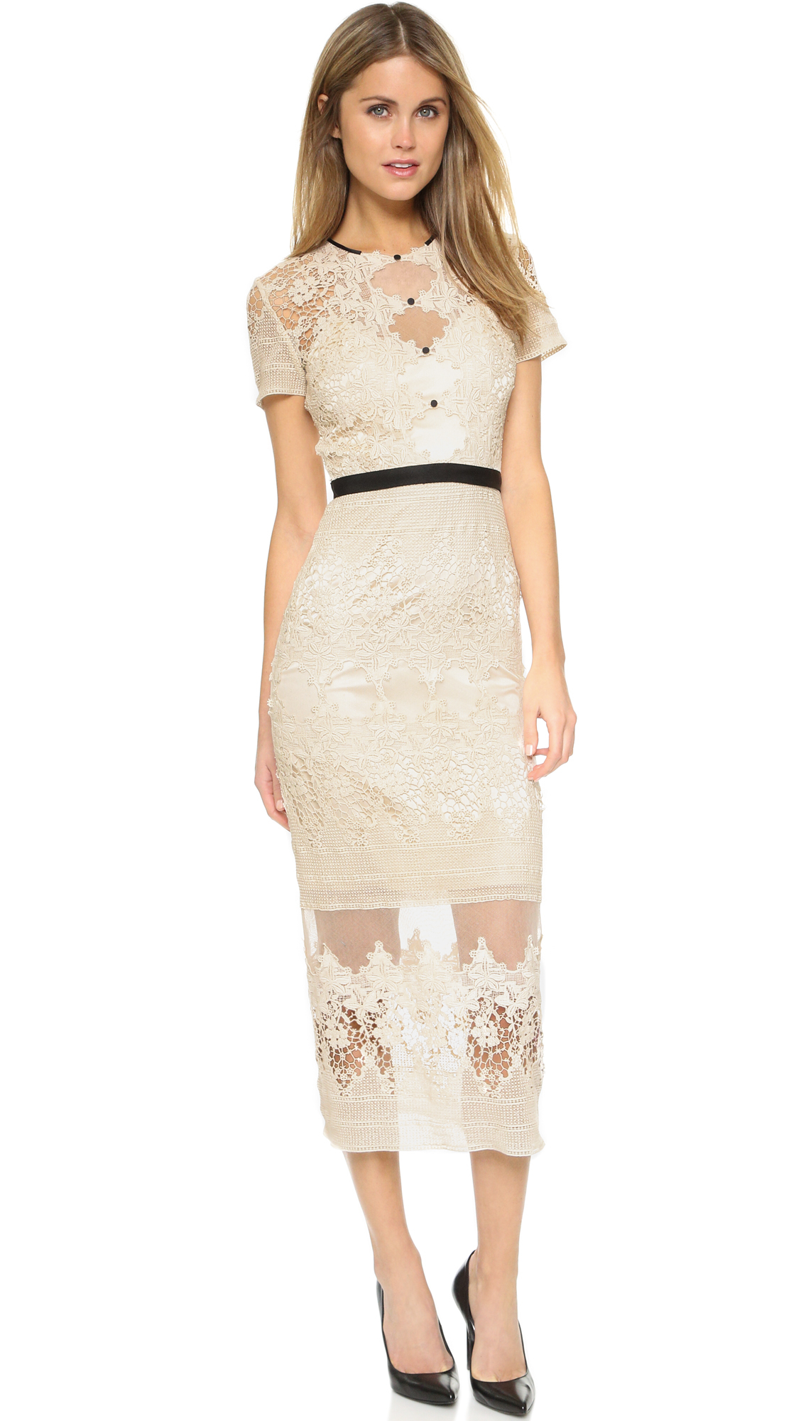 Lyst - Catherine Deane Forever Dress in Natural