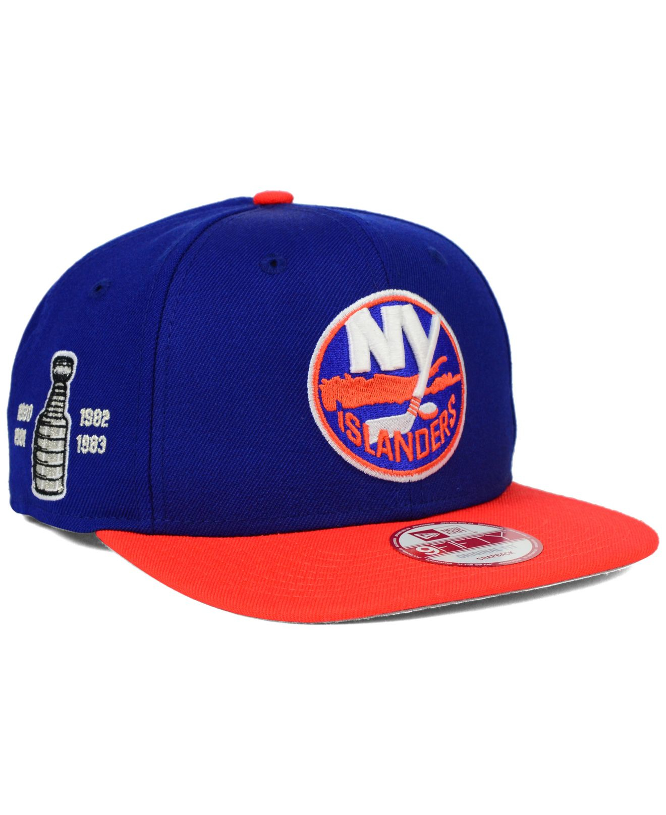 check out 6cd22 8c46b KTZ New York Islanders Stanley Cup Champ Collection 9fifty Snapback ...
