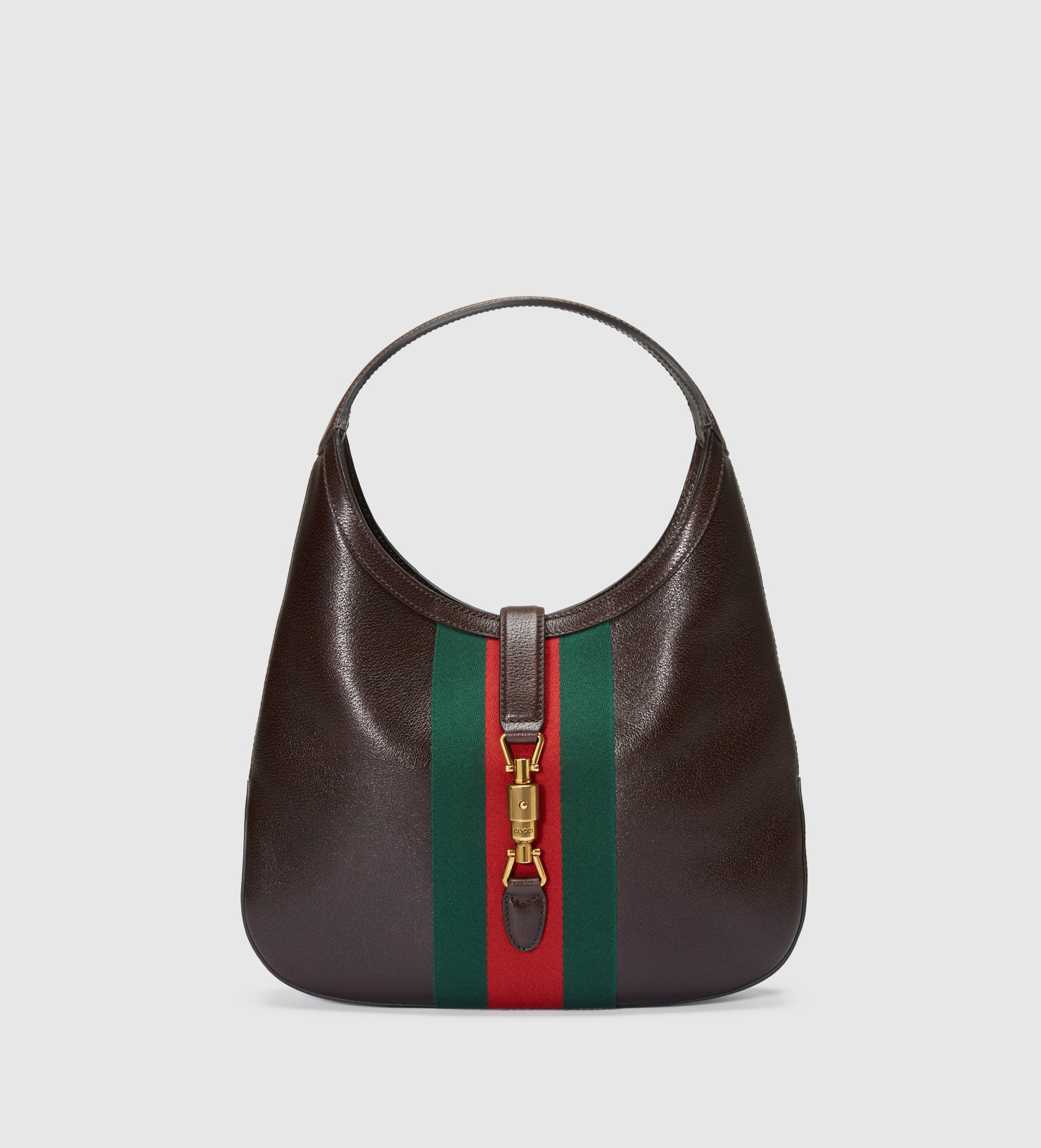 Gucci Jackie Soft Leather Hobo in Brown - Lyst bfd3110962
