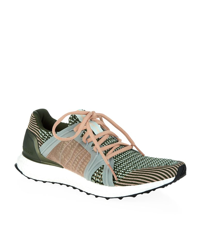 low priced 54523 736b7 adidas By Stella McCartney Ultra Boost Knit Sneaker in Green - Lyst