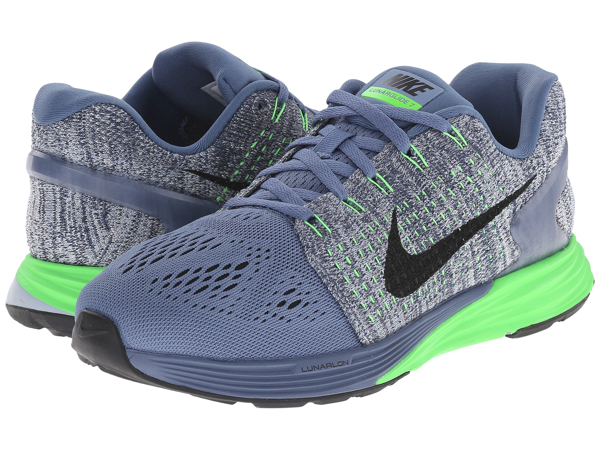 cheap for discount 8c037 58426 Nike Lunarglide 7 in Blue - Lyst