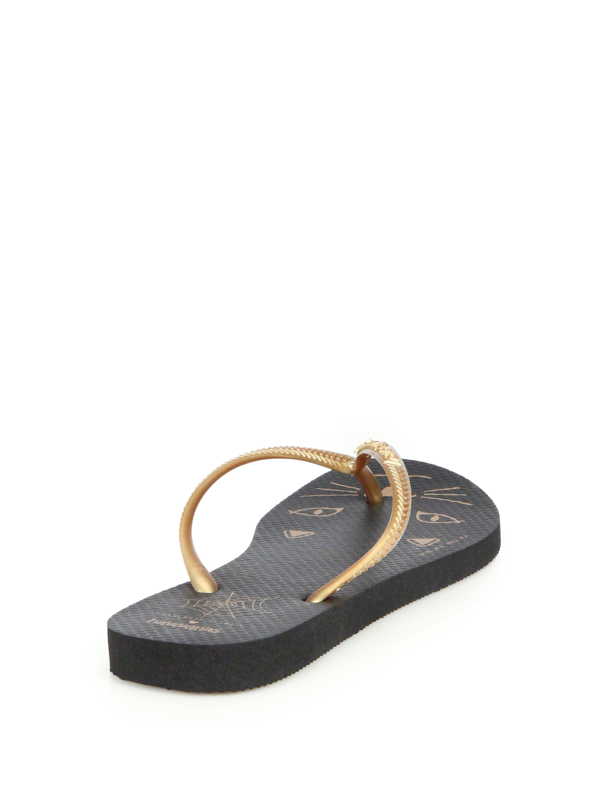 footlocker for sale Jil Sander Beige & Gold Havaianas Edition Kitty Sandals cheap sale ebay low price fee shipping cheap price aagsQkGm