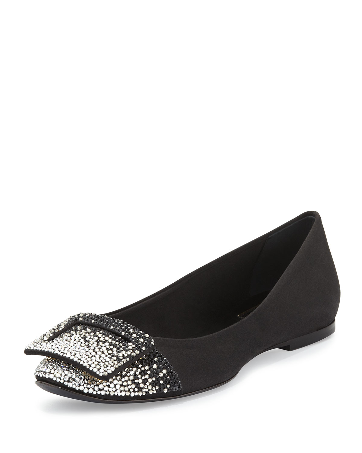 Roger Vivier Love Strass Flats free shipping the cheapest 4WEXM