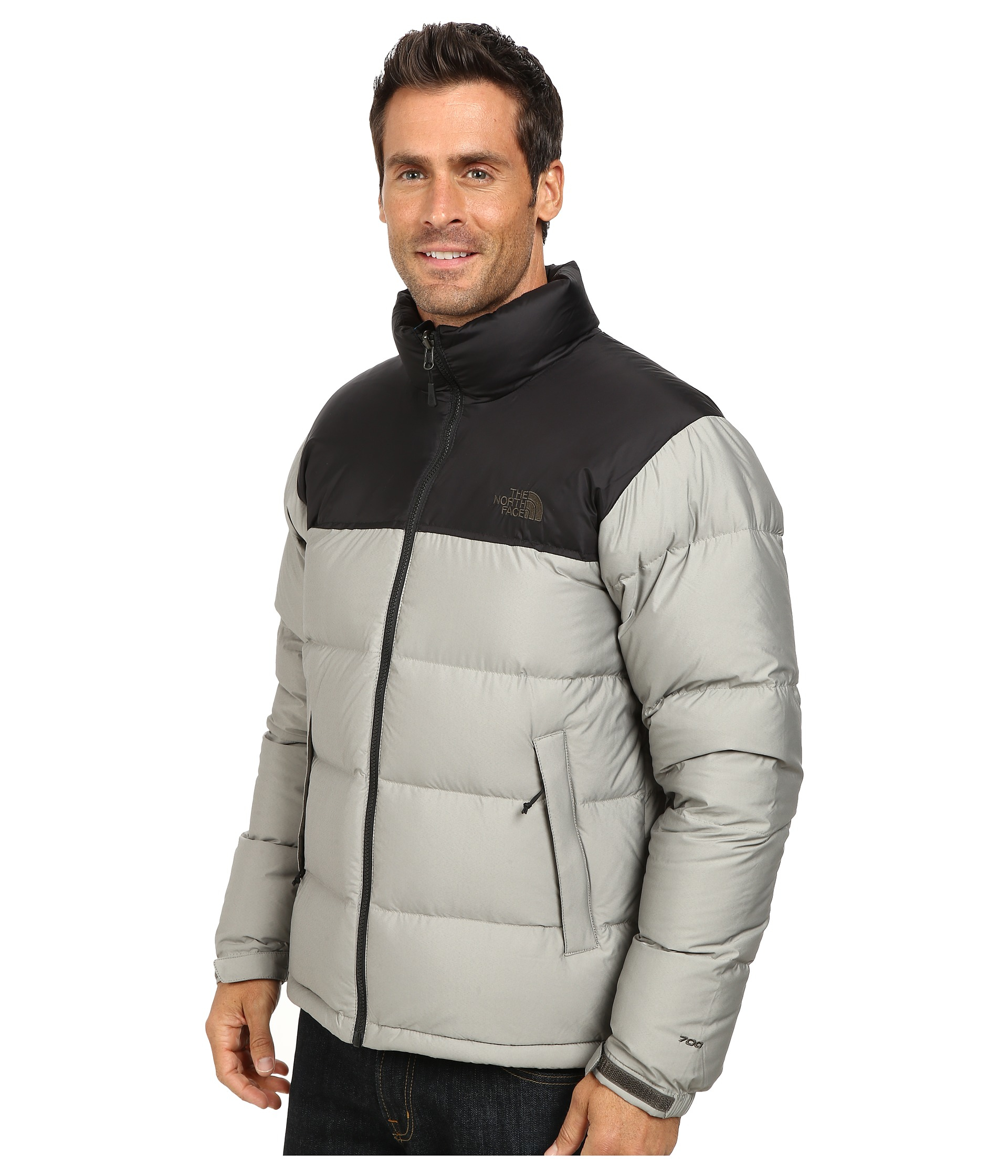 d5b1189b40 Lyst - The North Face Nuptse Jacket in Gray for Men