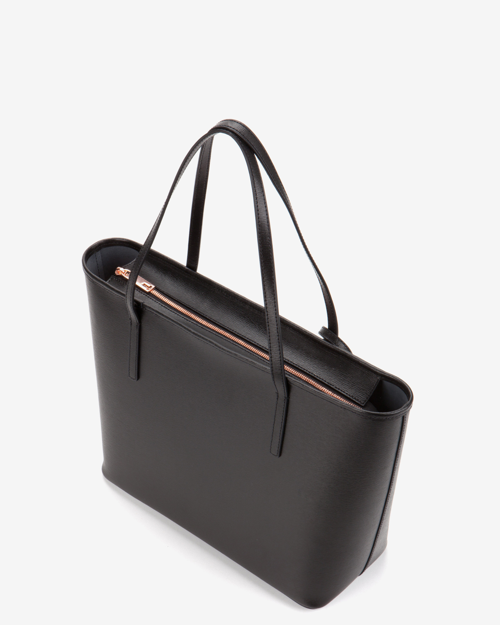 e90d1bb7586 Lyst Ted Baker Bonnita Leather Tote In Black. Delila Bow Detail Leather  Cross Body Bag ...