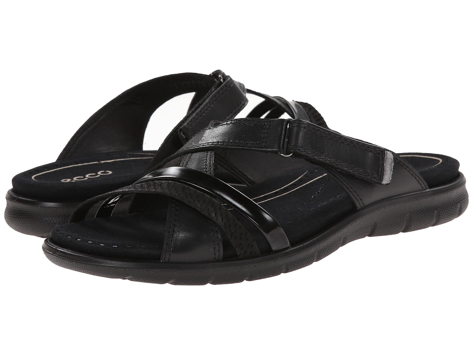 044544fa81f4 Lyst - Ecco Babett Sandal Strap Slide in Black